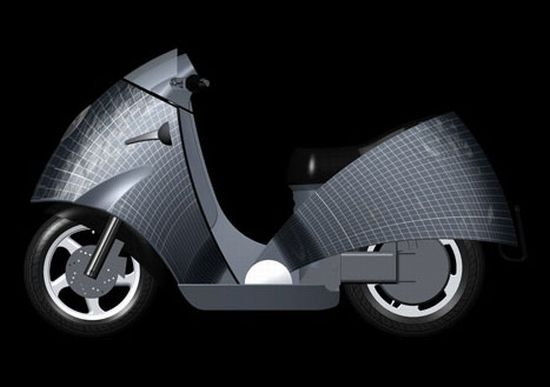 solar powered moped 4