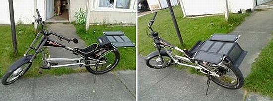 solar powered stilletto chopper