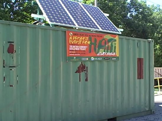 solar relief station