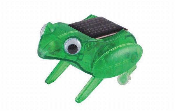 Solar hopping frog