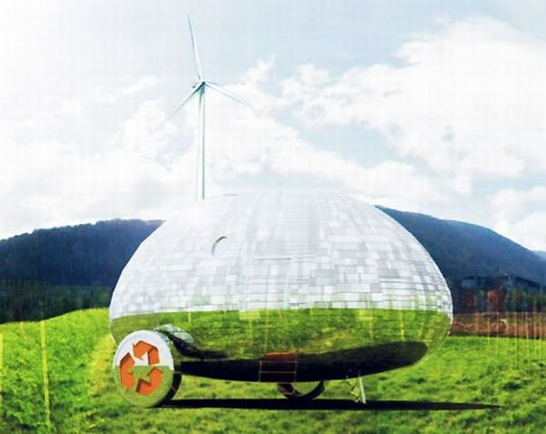Solar powered green home