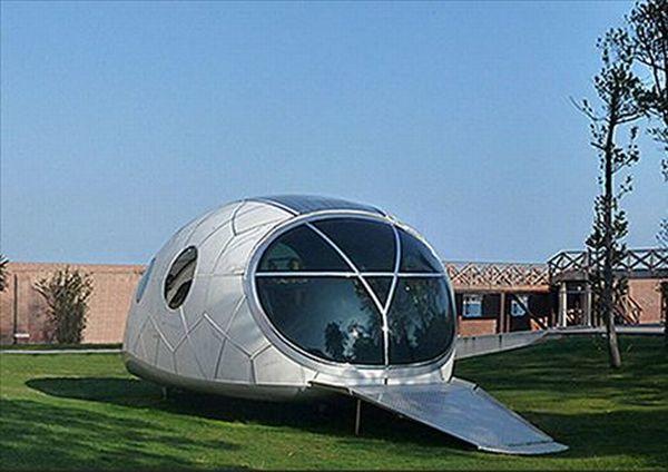 Solar-powered MercuryHouse