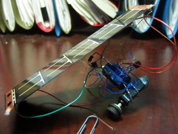 Solar Powered Robot