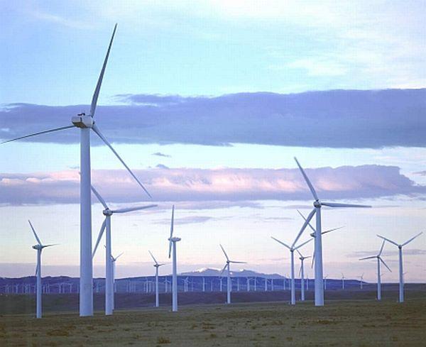 South Dakota wind farm