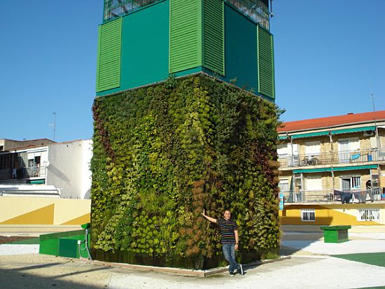 spain cubical vertical garden 1