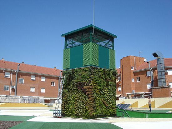 spain cubical vertical garden 2