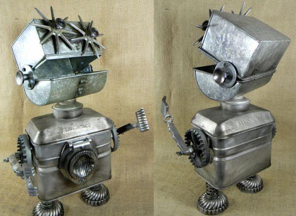 Superhero Sidekick Robot Boy