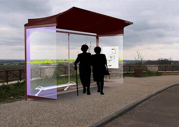 Sustainable bus stop