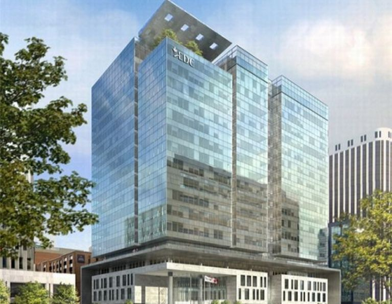 Sustainable office complex