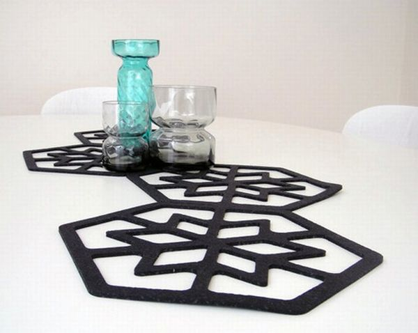 table mats from old car tires 1