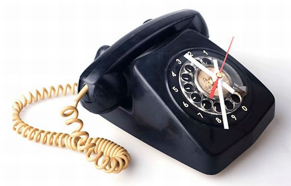 Telephone Clock 2