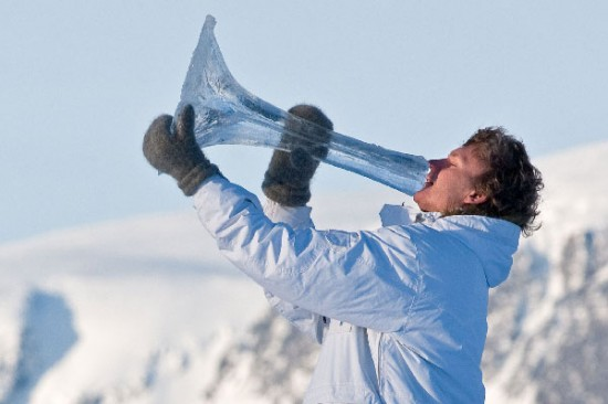 terje sungsets ice musical instruments 1