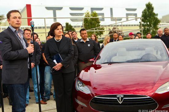tesla electric car factory 2
