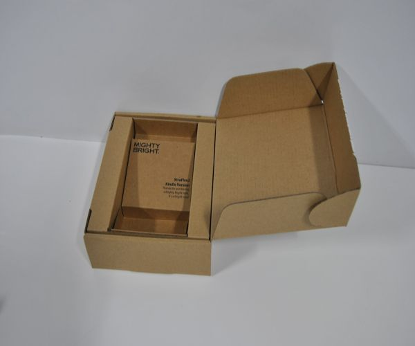 The frustration free packaging