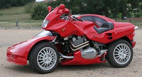Snaefell Hybrid Car-Motorcyle