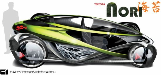 toyota nori concept electric car 2