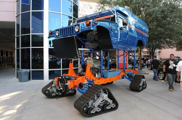 Transformed Hummer H1