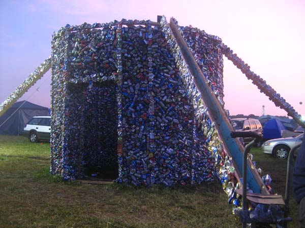 upcycled can house 1