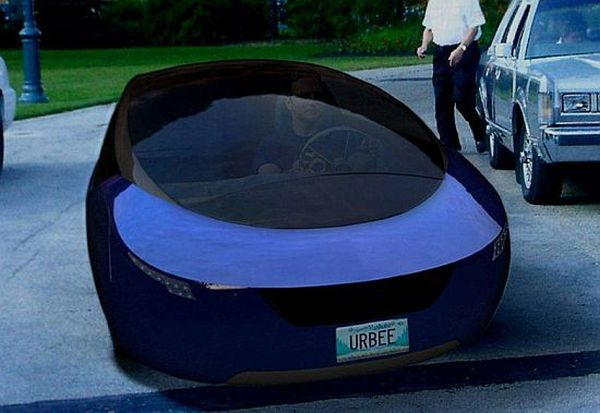Vehicle with 3D-printed body