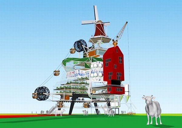 Vertical Farm Eco City