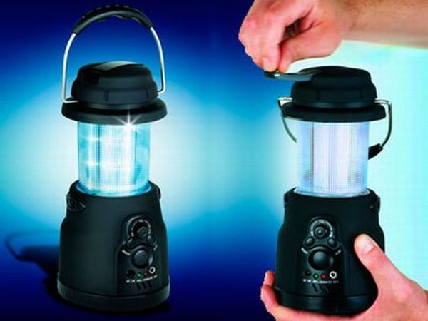 wind-up LED lantern