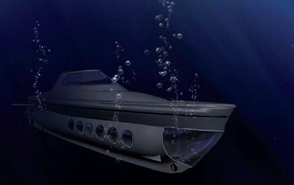 World's first solar powered submarine