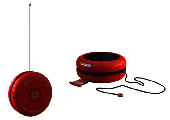 yoyo mobile phone charger concept1