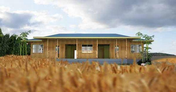 Zen Style Bamboo Home