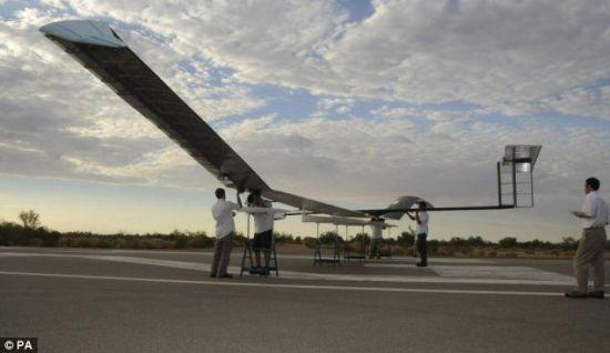zephyr solar aircraft 2