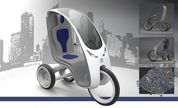 Zero-emission electric trikes