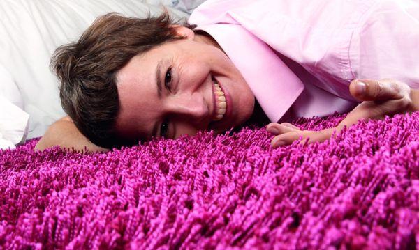 Purple-flooring
