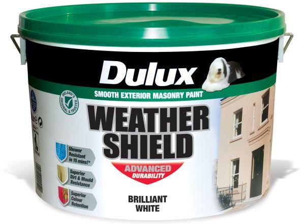 Dulux weather shield paint