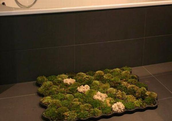 Carpet made of Moss
