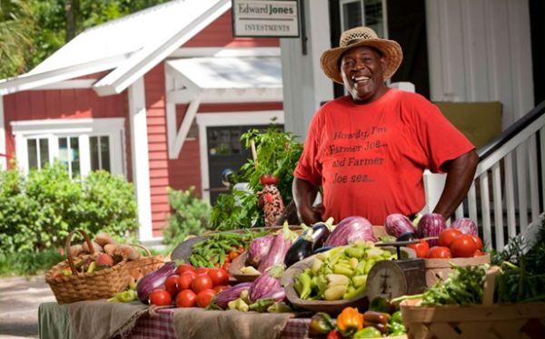 Farmers market vendor