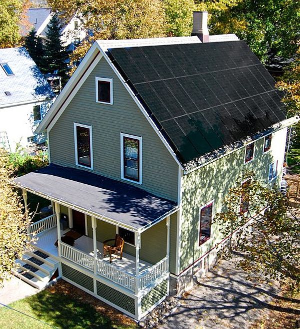 Net Zero house in America