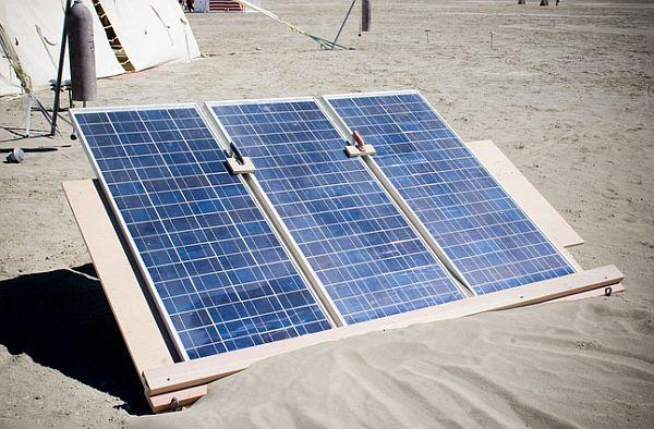 desert solar power