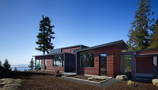 Chuckanut Ridge House by Prentiss Architects