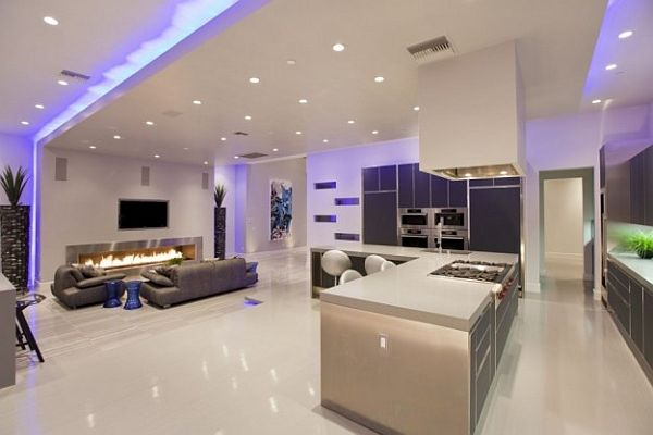 LED lighting in room_1