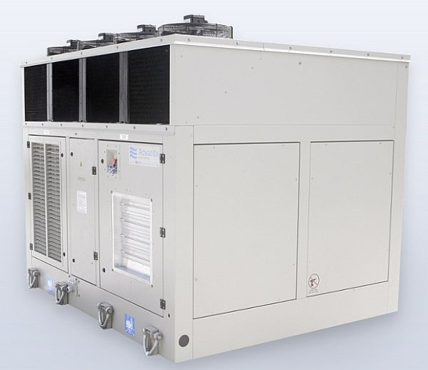Saltwater air-conditioning system by Advantix