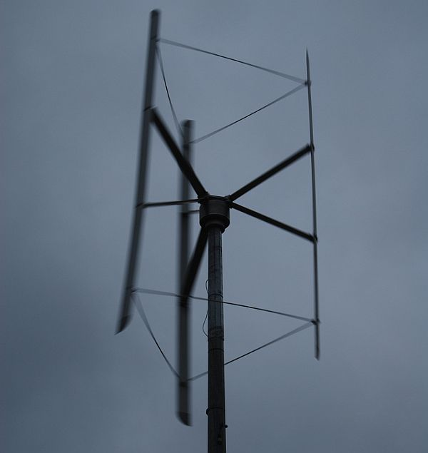 Vertical axis wind turbines (4)