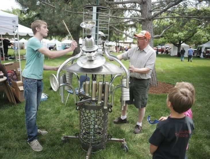 Michael Bingham's sound sculpture
