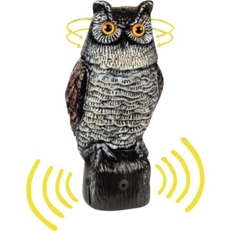 Garden Defense Electronic Owl
