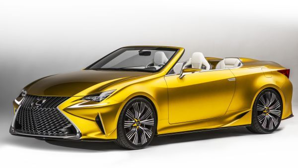The Lexus LF-C2