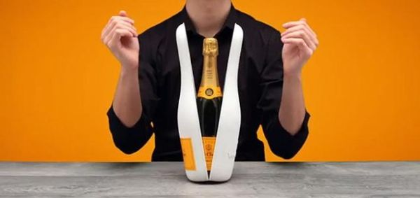 isothermal packaging released by the Veuve Clicquot brand