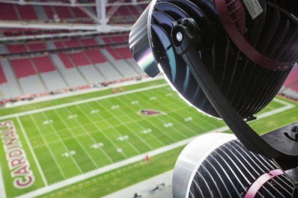 Super Bowl 2015 LED Green lighting (5)