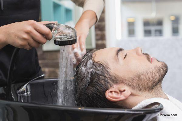 environment friendliness to a salon (2)