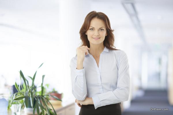 Modern Businesswoman Portrait