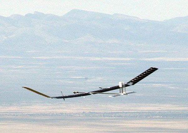 Zephyr Solar Plane