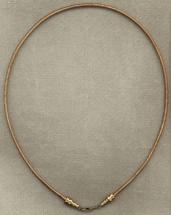 Guitar String Necklace
