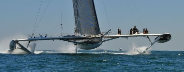 Hydroptere Sailboat